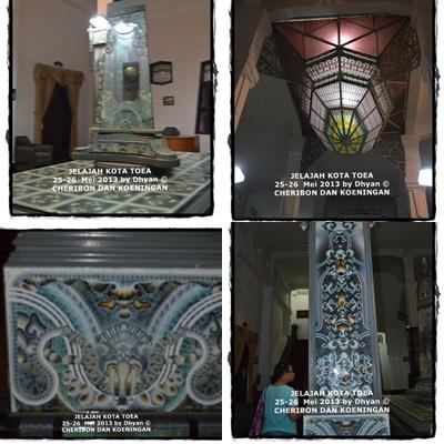 Detiil dalam Balai Kota Cirebon
